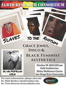 Slaves to the Rhythm: Grace Jones, Disco, and Black Feminist Aesthetics