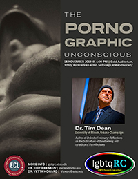 Dr. Tim Dean | The Pornographic Unconscious (University of Illinois, Urbana Champaign)